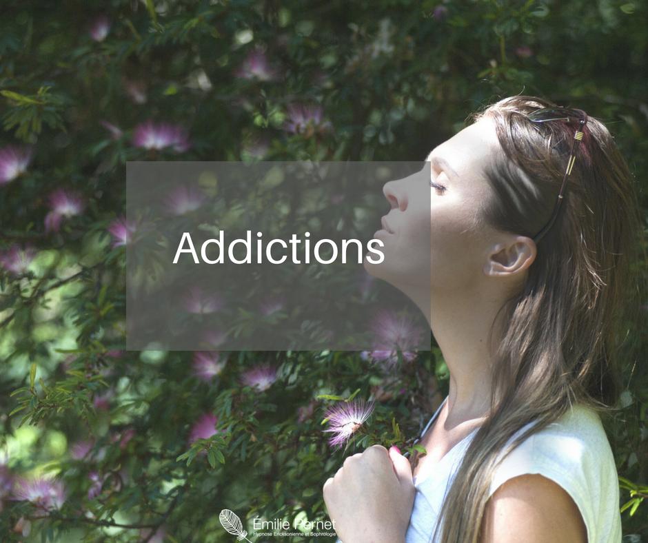 Applications de l'hypnose - Addictions
