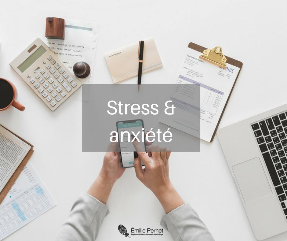 Application de l'hypnose - Stress et Anxiété